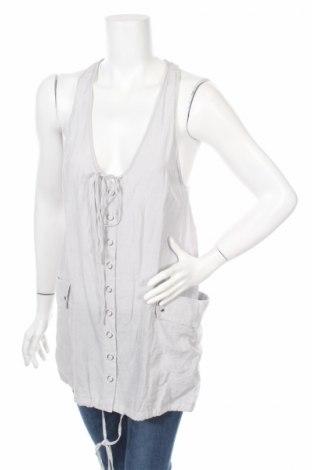 Γυναικείο πουκάμισο Crafted, Μέγεθος M, Χρώμα Γκρί, 78% βισκόζη, 22% πολυαμίδη, Τιμή 2,84€