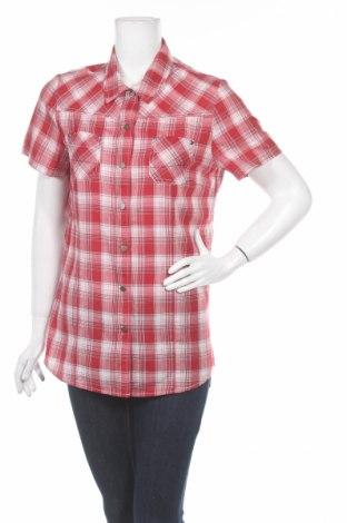 Дамска риза Green House, Размер M, Цвят Червен, 65% полиестер, 35% памук, Цена 6,58лв.