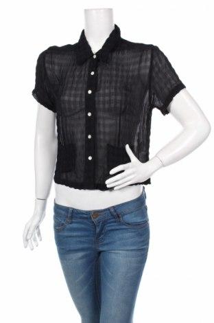 Γυναικείο πουκάμισο Hennes, Μέγεθος S, Χρώμα Μπλέ, 100% βισκόζη, Τιμή 3,57€