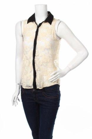 Дамска риза Monteau, Размер M, Цвят Екрю, 95% полиамид, 5% еластан, Цена 4,56лв.