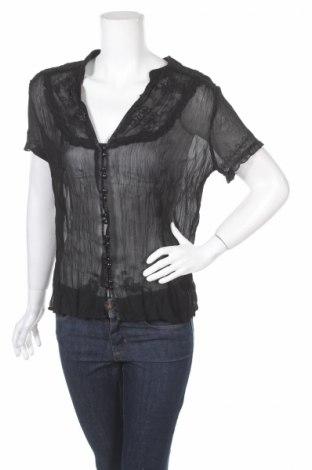 Дамска риза New Look, Размер L, Цвят Черен, Цена 6,83лв.