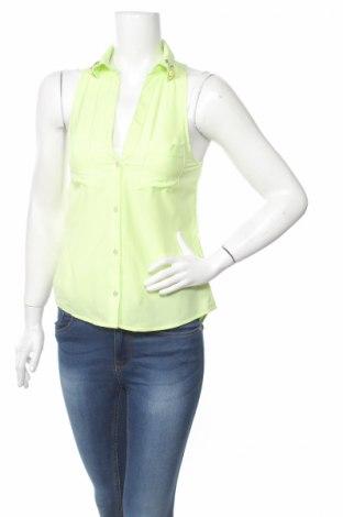Дамска риза Tally Weijl, Размер XS, Цвят Зелен, Полиестер, Цена 7,25лв.