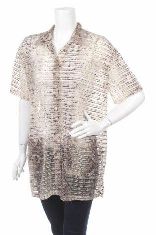 Дамска риза Zucchero, Размер L, Цвят Кафяв, Полиамид, Цена 7,25лв.