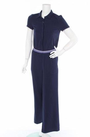 Γυναικεία σαλοπέτα Tom Tailor, Μέγεθος S, Χρώμα Μπλέ, 97% πολυεστέρας, 3% ελαστάνη, Τιμή 22,48€
