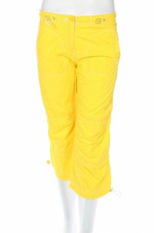 Дамски панталон Clockhouse, Размер XS, Цвят Жълт, Памук, Цена 5,98лв.