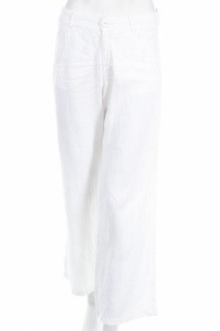Γυναικείο παντελόνι Isabell Kristensen, Μέγεθος S, Χρώμα Λευκό, Λινό, Τιμή 7,54€