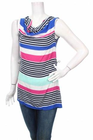 Γυναικείο αμάνικο μπλουζάκι Miss Etam, Μέγεθος S, Χρώμα Πολύχρωμο, 95% βισκόζη, 5% ελαστάνη, Τιμή 3,25€