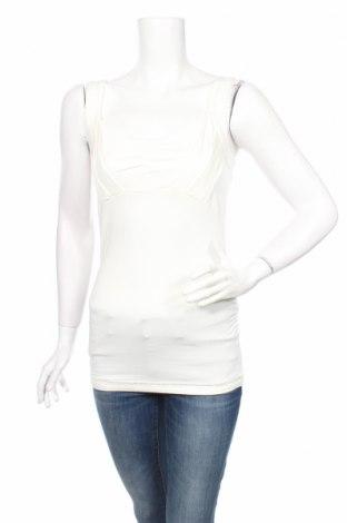 Γυναικείο αμάνικο μπλουζάκι Expresso, Μέγεθος XS, Χρώμα Λευκό, 96% βισκόζη, 4% ελαστάνη, Τιμή 3,52€