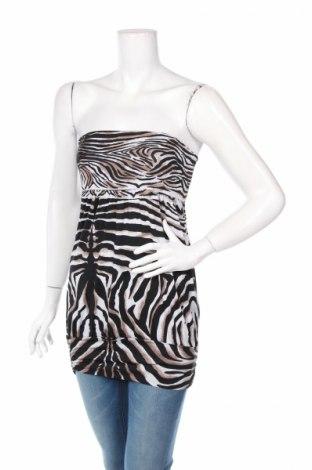 Γυναικείο αμάνικο μπλουζάκι Madonna, Μέγεθος XS, Χρώμα Πολύχρωμο, 95% πολυεστέρας, 5% ελαστάνη, Τιμή 2,87€