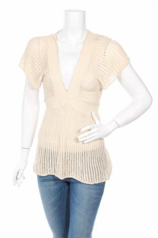 Дамски пуловер Zebra, Размер S, Цвят Бежов, 60% памук, 40% вискоза, Цена 5,60лв.