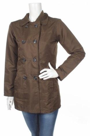 Дамски шлифер, Размер M, Цвят Зелен, Полиестер, Цена 10,50лв.