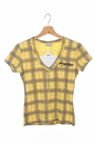 Детска блуза Kangaroos, Размер 11-12y/ 152-158 см, Цвят Жълт, Памук, Цена 6,00лв.