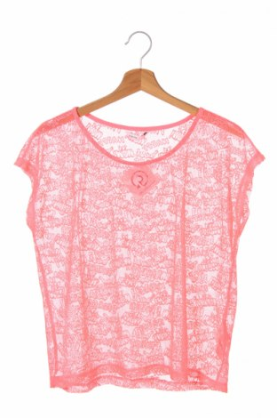 Детска блуза Lcw Teen, Размер 12-13y/ 158-164 см, Цвят Розов, Полиестер, Цена 4,32лв.