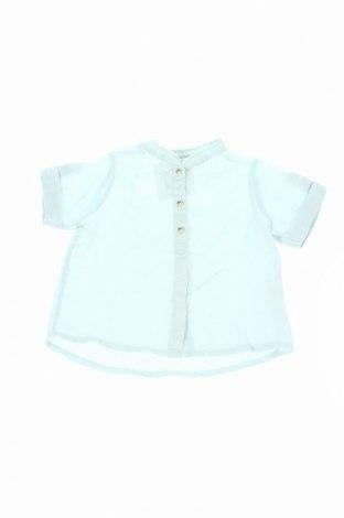 Детска риза Dp...am, Размер 12-18m/ 80-86 см, Цвят Зелен, Лен, Цена 7,70лв.