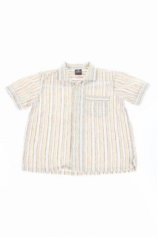 Детска риза Next, Размер 3-4y/ 104-110 см, Цвят Бежов, 55% лен, 45% памук, Цена 8,71лв.