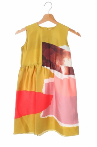 Rochie de copii Roksanda, Mărime 7-8y/ 128-134 cm, Culoare Multicolor, Mătase, Preț 238,27 Lei
