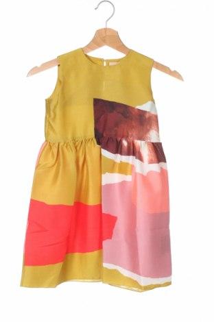 Rochie de copii Roksanda, Mărime 4-5y/ 110-116 cm, Culoare Multicolor, Mătase, Preț 184,57 Lei