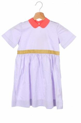 Rochie de copii Roksanda, Mărime 6-7y/ 122-128 cm, Culoare Violet, 94% bumbac, 6% elastan, Preț 216,05 Lei