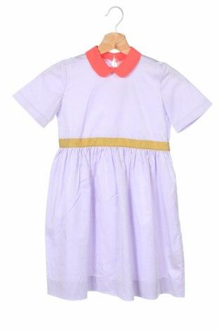 Детска рокля Roksanda, Размер 7-8y/ 128-134 см, Цвят Лилав, 94% памук, 6% еластан, Цена 97,65лв.
