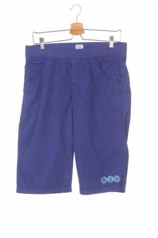 Pantaloni scurți de copii Armani Junior, Mărime 13-14y/ 164-168 cm, Culoare Violet, Bumbac, Preț 106,67 Lei