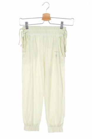 Detské nohavice  Armani Junior, Veľkosť 7-8y/ 128-134 cm, Farba Zelená, Bavlna, Cena  23,04€