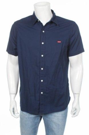 Мъжка риза Levi's, Размер L, Цвят Син, 100% памук, Цена 34,30лв.