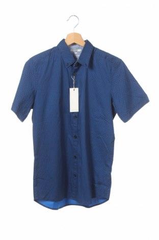 Pánska košeľa  Tom Tailor, Veľkosť S, Farba Modrá, 98% bavlna, 2% elastan, Cena  9,74€