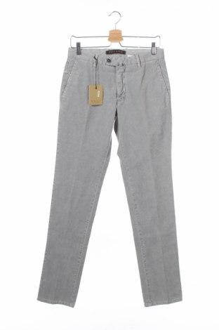 Мъжки панталон Eddy&Bros, Размер S, Цвят Сив, 98% памук, 2% еластан, Цена 26,25лв.