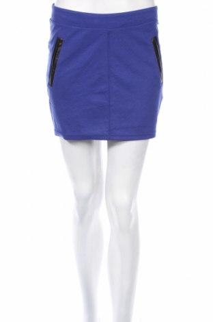 Φούστα, Μέγεθος M, Χρώμα Μπλέ, 73% πολυεστέρας, 22% βαμβάκι, 5% ελαστάνη, Τιμή 3,88€
