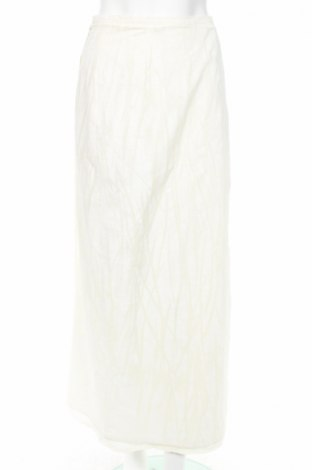 Пола Adolfo Dominguez, Размер S, Цвят Бежов, 76% памук, 24% лен, Цена 10,92лв.