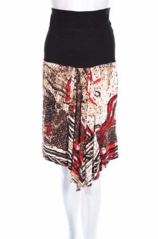 Пола Blacky Dress, Размер XS, Цвят Многоцветен, 95% вискоза, 5% еластан, Цена 9,06лв.