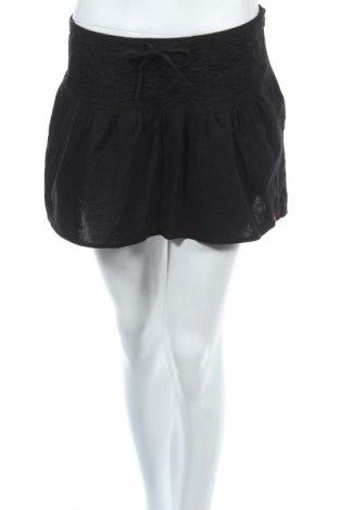 Пола Edc By Esprit, Размер S, Цвят Черен, 55% лен, 45% памук, Цена 4,60лв.