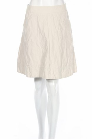 Пола H&M, Размер M, Цвят Бежов, 47% памук, 46% полиестер, 7% метални нишки, Цена 5,80лв.