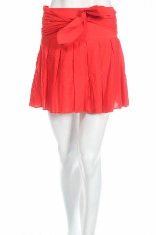 Φούστα Naf Naf, Μέγεθος XS, Χρώμα Κόκκινο, Βαμβάκι, Τιμή 8,35€