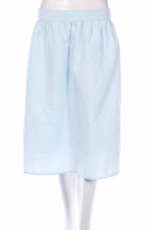 Φούστα Vero Moda, Μέγεθος L, Χρώμα Μπλέ, 55% βαμβάκι, 45% πολυεστέρας, Τιμή 14,61€