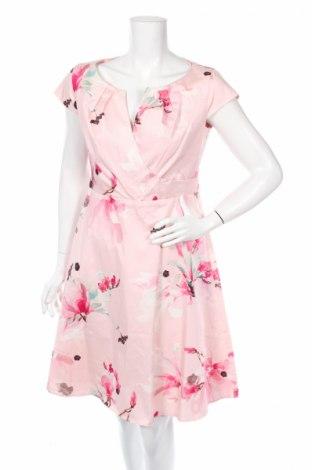 Šaty  Comma,, Veľkosť M, Farba Viacfarebná, 97% bavlna, 3% elastan, Cena  30,31€