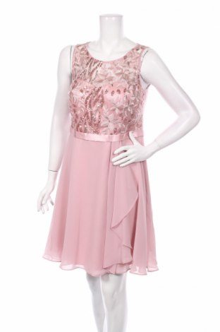 Šaty  Vera Mont, Rozměr L, Barva Růžová, Polyester, Cena  604,00Kč