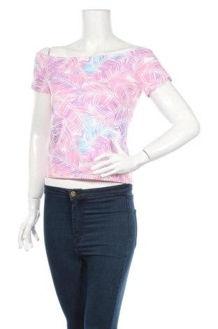 Дамска блуза Clockhouse, Размер XL, Цвят Многоцветен, 95% памук, 5% еластан, Цена 4,80лв.