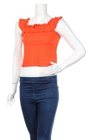 Дамски потник Clockhouse, Размер L, Цвят Оранжев, 100% памук, Цена 4,68лв.