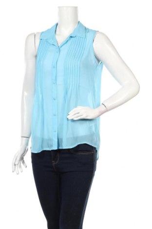 Дамска риза Kenvelo, Размер L, Цвят Син, Полиестер, Цена 5,75лв.