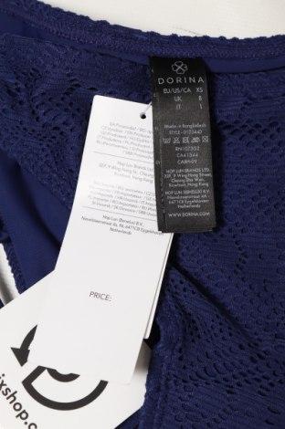 Дамски бански Dorina, Размер XS, Цвят Син, 80% полиамид, 20% еластан, Цена 3,10лв.