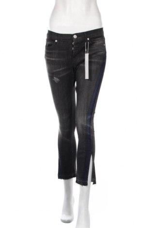 Дамски дънки Hudson, Размер XS, Цвят Сив, 98% памук, 2% еластан, Цена 20,50лв.