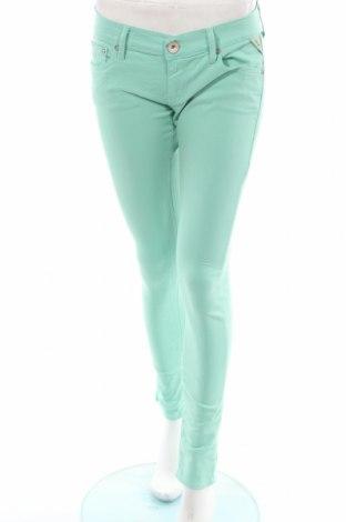 Дамски дънки Replay, Размер M, Цвят Зелен, Цена 14,00лв.