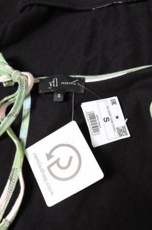 Дамски гащеризон Reserved, Размер S, Цвят Черен, 100% памук, Цена 36,75лв.