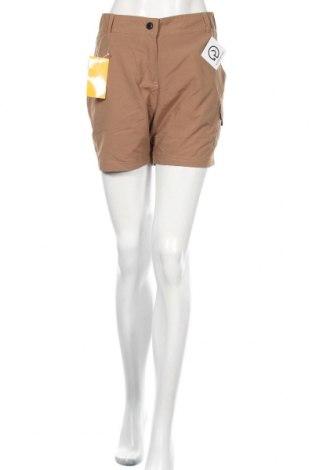 Дамски къс панталон Gregster, Размер XL, Цвят Кафяв, Полиамид, Цена 3,04лв.