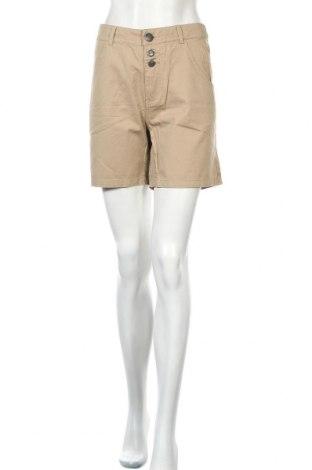 Дамски къс панталон Only, Размер S, Цвят Бежов, Памук, Цена 6,80лв.