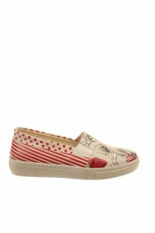 Γυναικεία παπούτσια, Μέγεθος 37, Χρώμα  Μπέζ, Δερματίνη, Τιμή 16,42€