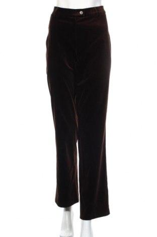 Дамски панталон Atelier GARDEUR, Размер L, Цвят Кафяв, 99% памук, 1% еластан, Цена 9,98лв.
