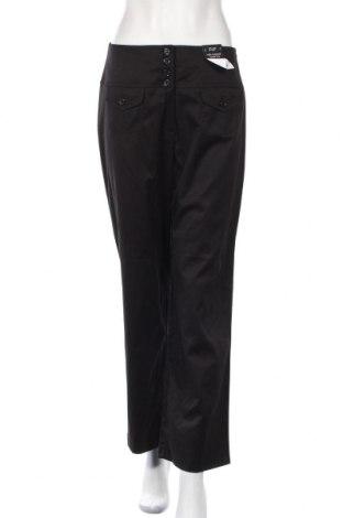 Дамски панталон F&F, Размер S, Цвят Черен, 53% полиестер, 45% памук, 2% еластан, Цена 8,94лв.