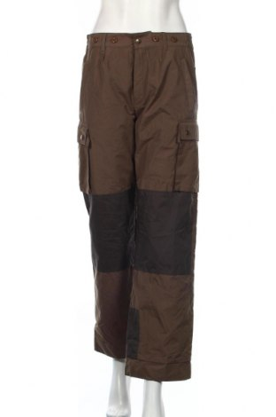 Дамски панталон за зимни спортове Gaupa, Размер M, Цвят Зелен, Полиестер, памук, Цена 9,19лв.
